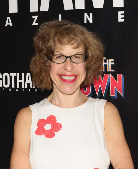 Jackie Hoffman was seen at an event in a state of ageless beauty.