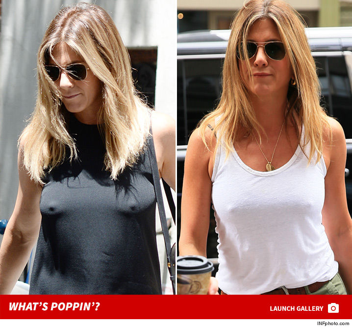 Jennifer Aniston Is a Braless Wonder | TMZ.com