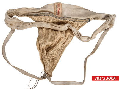 Boxing Legend Joe Frazier -- Jock Strap Hits Auction Block ... Worn During Ali Fight (PHOTO)