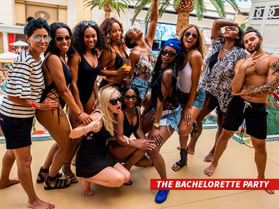 Ciara -- So, That Was a Bachelorette Party!!! (PHOTOS)