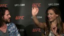 Miesha Tate -- I Won My First Fight ... IN 3RD GRADE!!! (VIDEO)