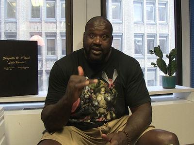 Shaq -- I Got Brock In UFC 200 ... Us Bigger Guys Gotta Stick Together (VIDEO)