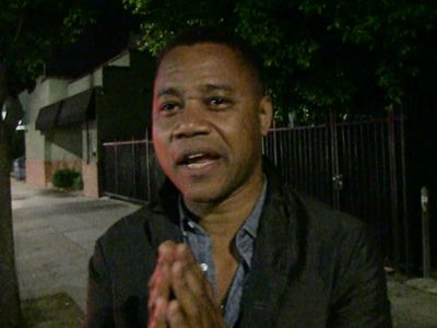 Cuba Gooding Jr. -- Tearfully Remembers Murdered Dallas Cop (PHOTO/VIDEO)
