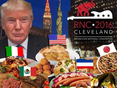Donald Trump -- I Like Asian, Italian, Mexican ... I Like it All!!! (PHOTO GALLERY)