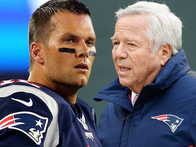 Pats Owner Robert Kraft -- BLASTS NFL ... League Screwed Tom Brady