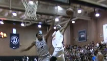 Ron Artest's Son -- Posterized in Drew League Game (VIDEO)