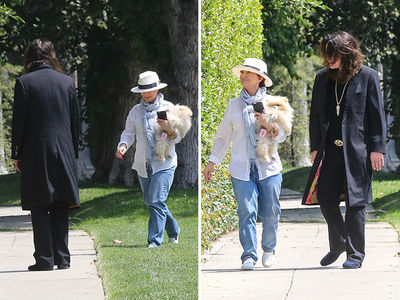 Sharon & Ozzy Osbourne -- Together On a Road to Somewhere (PHOTOS)