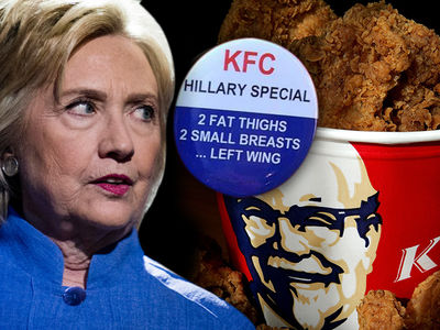 KFC -- 'Hillary Special' Is NOT Finger Lickin' Good