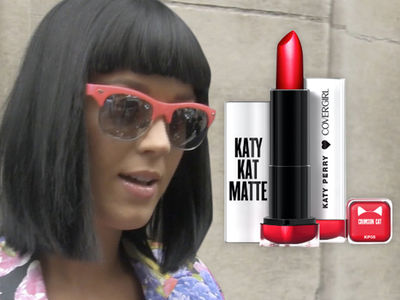 Katy Perry -- CoverGirl Sued ... Her Makeup's a Hard Candy Copy
