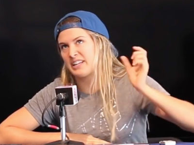 Tennis Star Eugenie Bouchard -- Slams Taylor Swift ... You're Always Playing the Victim! (VIDEO)