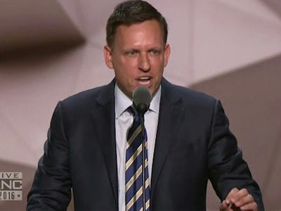 Peter Thiel -- I'm Proud to Be Gay, Proud to be a Republican (VIDEO)