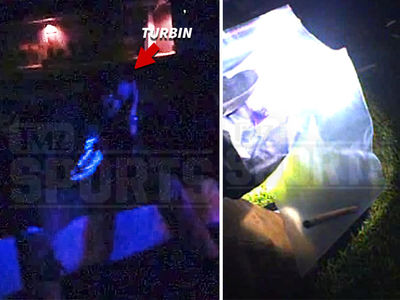 NFL's Robert Turbin -- Marijuana Bust Video ... Cop Finds 'Rolled Joint-Type Thing' (VIDEO)