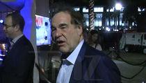 Oliver Stone -- Lit at Comic-Con (VIDEO)