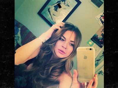 Lindsay Lohan -- It's War with Egor Over My Topless Art (PHOTOS)