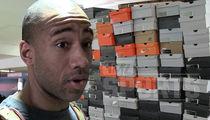NBA Champ Dahntay Jones -- STORAGE WAR ... You Sold My Rare Nikes!!! (PHOTO GALLERY + VIDEO)