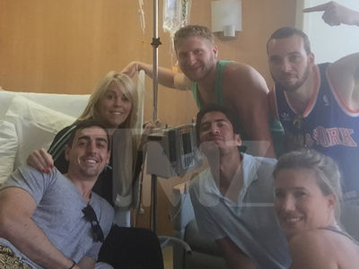 Dina Lohan -- Still Hospitalized ... Family Fears Cancer (PHOTO)