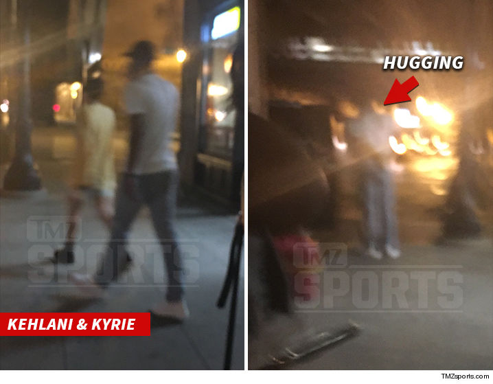 1b7f17af055b Interesting situation in Chicago ... with Kyrie Irving hugging it out with  his ex-girlfriend