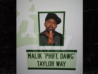A Tribe Called Quest -- NYC Street Changed ... Phife Dawg's the Name Now (PHOTO)
