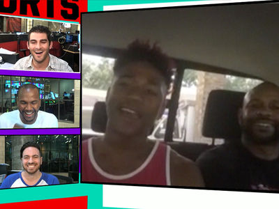Roy Jones Jr. -- I'm Glad My Kid Picked Hoops ... Boxing's Too Dangerous (VIDEO)