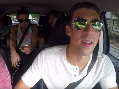 USA Swimming -- Going For Gold ... In Carpool Karaoke (VIDEO)