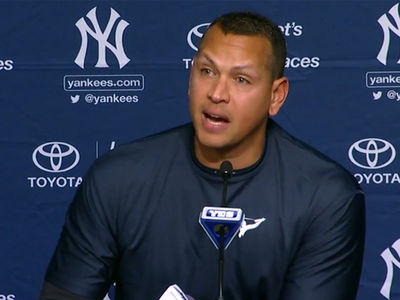 Alex Rodriguez -- 'This Is a Tough Day' ... I'm Retiring