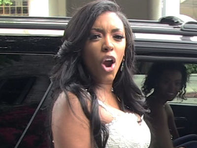 'RHOA' Star Porsha Williams -- Collapses in Mall Parking Lot ... Rushed to Hospital