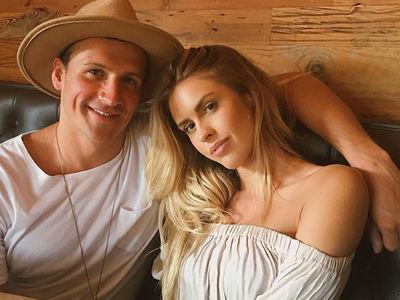 Ryan Lochte -- Chillin' with Playboy Model Girlfriend ... In Rio (PHOTO)