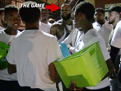 The Game -- Calls BS On Candy Kids ... You're All Hustlers!!! (VIDEO)