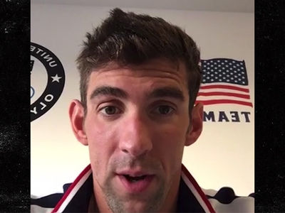 Michael Phelps -- Yep, This Is It ... I'm Really Retiring (VIDEO)