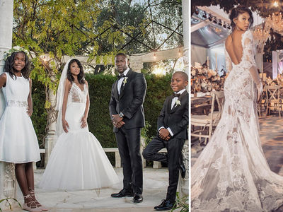 Kevin Hart -- Ties the Knot in Grand Style (PHOTOS)