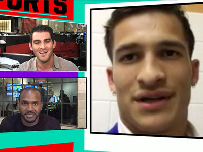 Muhammad Ali's Grandson -- Marshawn Lynch Consoled Me ... After Boxing Legend's Death (VIDEO)