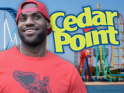 LeBron James -- Here's Another Gift, Ohio ... Sends 5,000 Kids to Amusement Park