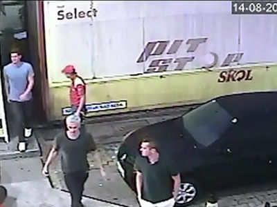 U.S. Swimmers -- They Damaged Gas Station, Guard Forced Them to Pay Up