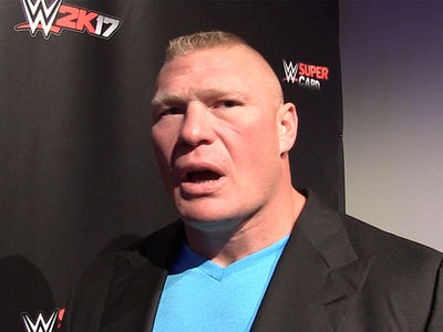 Brock Lesnar -- Don't Rule Out UFC Return