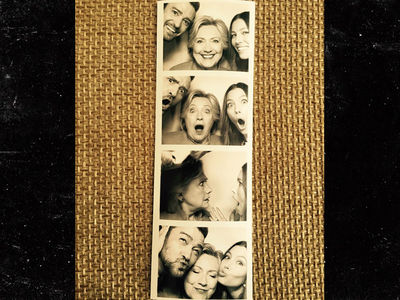 Hillary Clinton -- Gets Goofy with Justin Timberlake And Jessica Biel (PHOTOS)