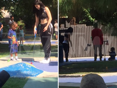 Kylie Jenner -- Stepping Up as Stepmom (PHOTOS)