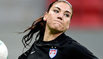 Hope Solo -- Hit with 6 Month Suspension ... For Trashing Sweden