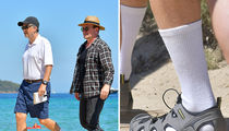 Bill Gates -- I've Got Major Socks Appeal (PHOTO)