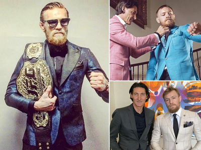 Conor McGregor -- Spends A Fortune On Custom Suits ... Stylist Tells All (PHOTO GALLERY)