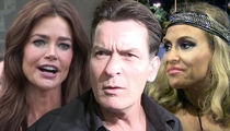 Charlie Sheen -- Brooke and Denise Accept Radical Reduction in Child Support