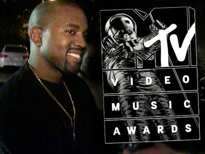 Kanye West -- No Rehearsal ... Hours Before VMA Performance