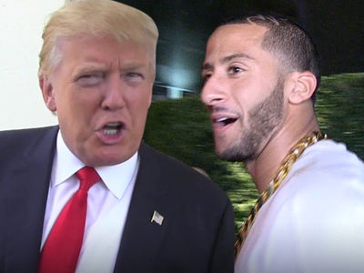 Donald Trump -- If Kaepernick Doesn't Like America ... GIT OUT!!