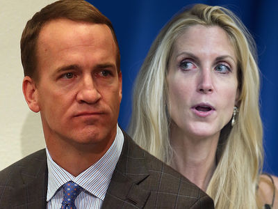 Peyton Manning -- Rips Ann Coulter to Her Face ... You Look Like a Horse!