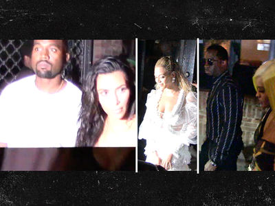 Kanye, Jay Z, Diddy and Wifeys -- Hip-Hop Royalty ... Sticks Together (VIDEO + PHOTO)