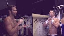 'DWTS' Champ Nyle DiMarco -- Teaching Chippendales Guys New Moves ... Sign Language!!! (VIDEO)