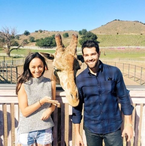 Cara Santana and Jesse Metcalfe!