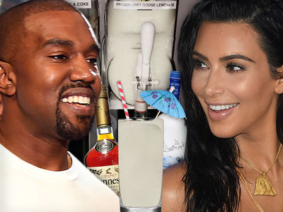 Kanye West Tour Rider -- I Can Hold My Liquor ... If It's Frozen (PHOTO)