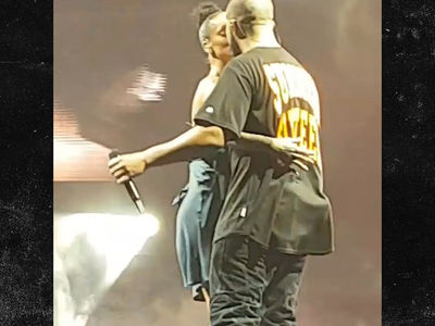 Drake and Rihanna -- The Kiss Seen 'Round the World (VIDEO)