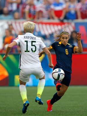 Megan Rapinoe -- On the Field