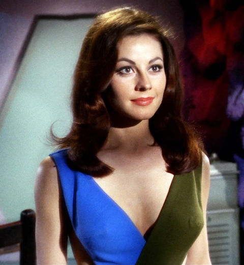"Sherry Jackson as ""Andrea."""